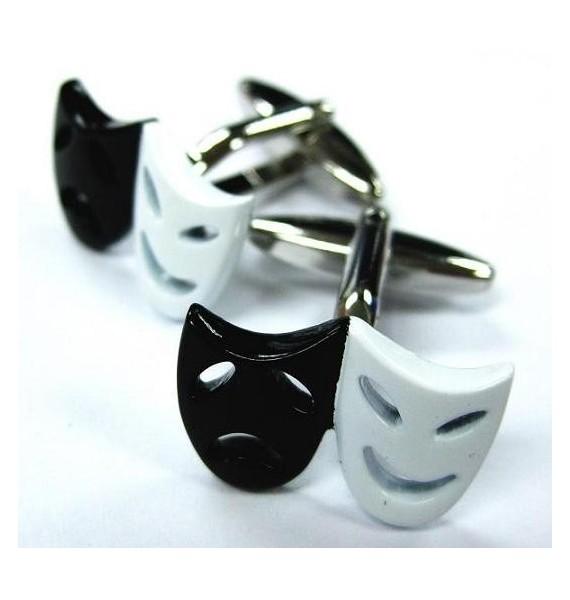 Gemelos Máscaras Blanca y Negra