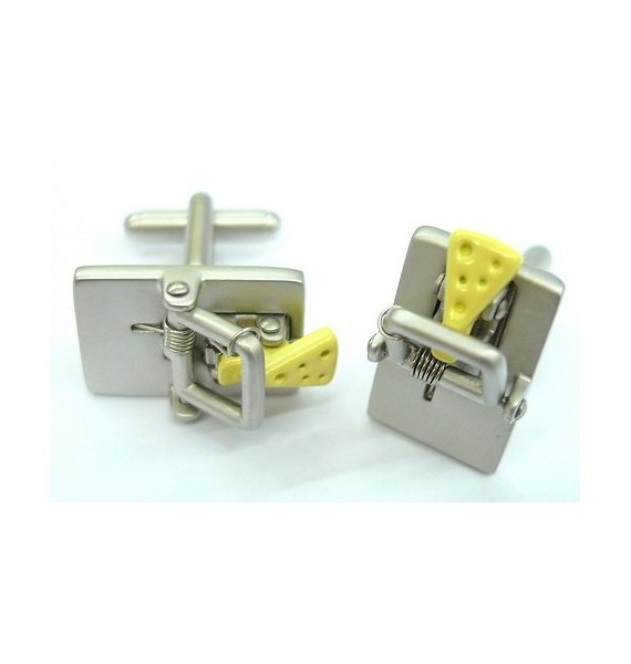 Mouse Trap Cufflinks