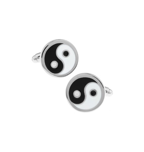 Yin Yang Sign Cufflinks