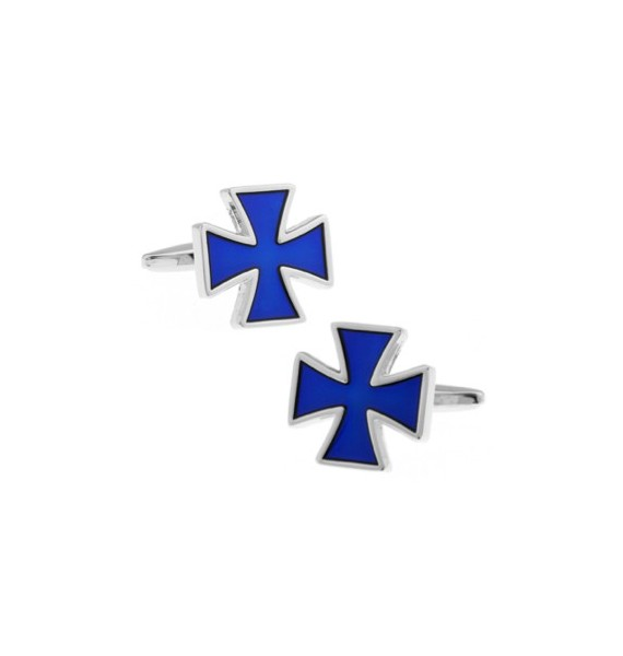 Gemelos Cruz de San Jorge Azul