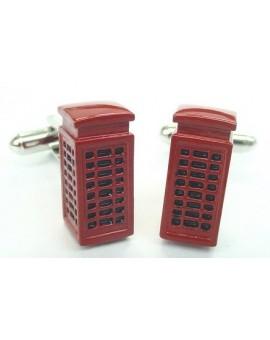 London Phone Box Cufflinks
