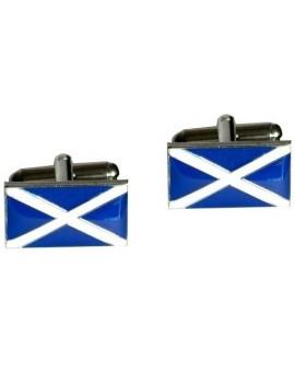Scottish Flag Cufflinks