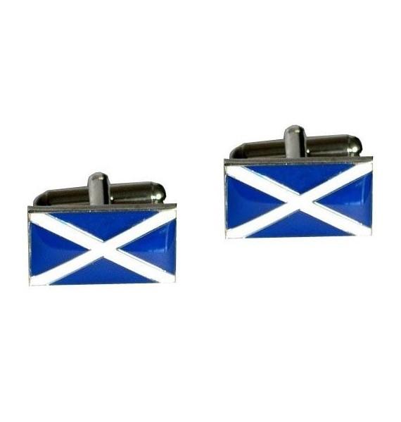 Gemelos Bandera de Escocia