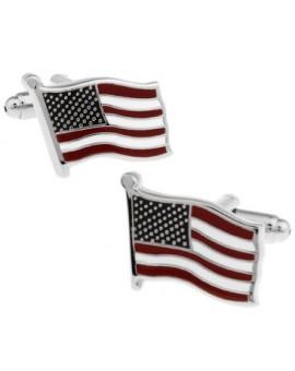Gemelos Bandera USA
