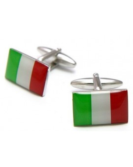 Gemelos Bandera de Italia