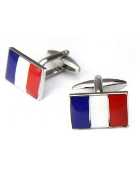 Gemelos Bandera de Francia
