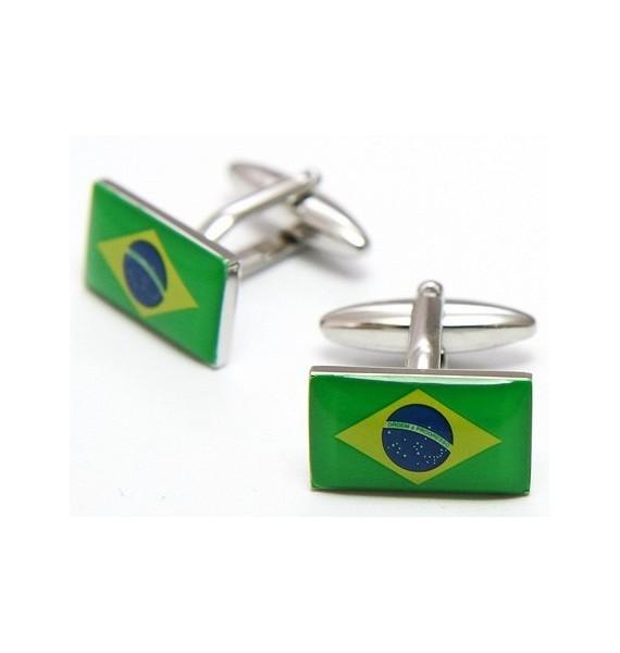 Gemelos Bandera de Brasil