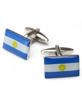 Gemelos Bandera de Argentina