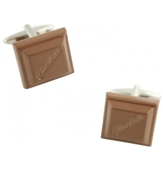 Milk Chocolate Cufflinks