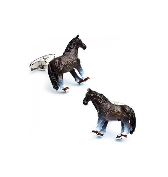 3D Horse Cufflinks