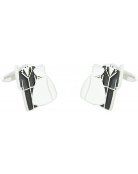 Bride and Groom Cufflinks