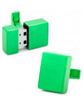 Gemelos USB 8GB Verde