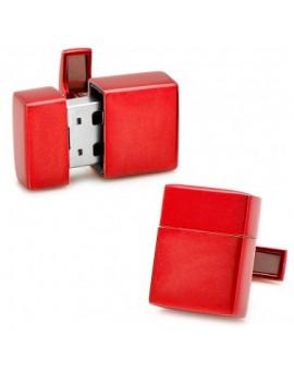 Gemelos USB 8GB Rojo