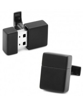 Gemelos USB 8GB Negro