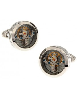Gemelos Stainless Steel Watch Movement