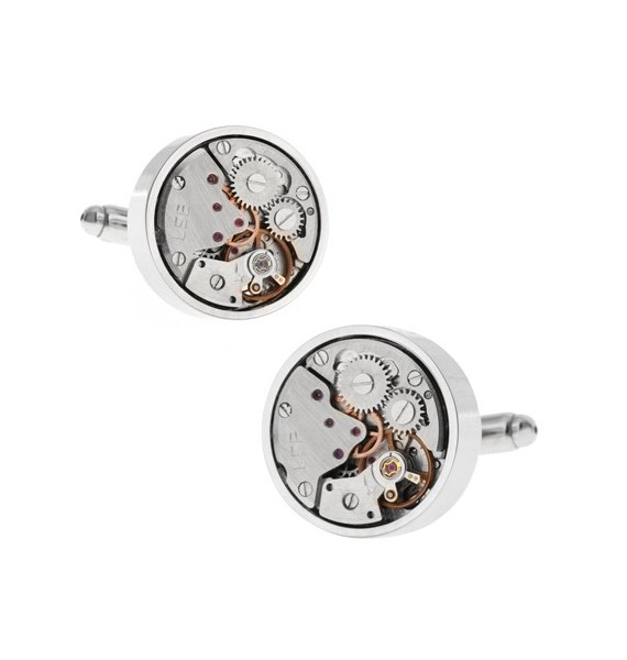 Gemelos Silver Watch Movement