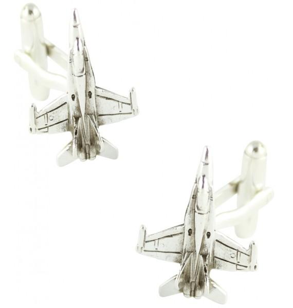 F-18 Aircraft Cufflinks
