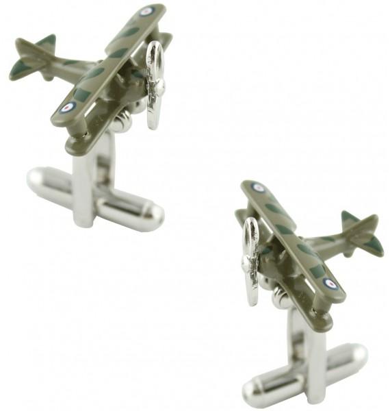 World War Two Plane Cufflinks