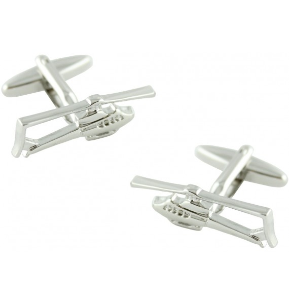 Bell Helicopter Cufflinks