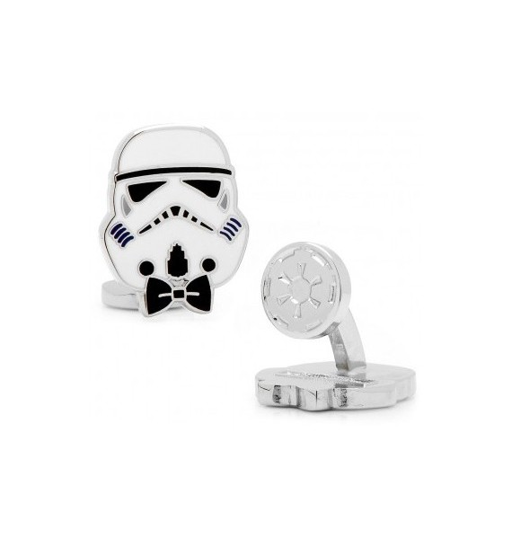 Stylish Storm Trooper Star Wars Cufflinks