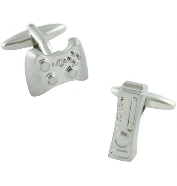Silver Xbox 360 Cufflinks