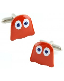 Pac-Man Blinky Cufflinks