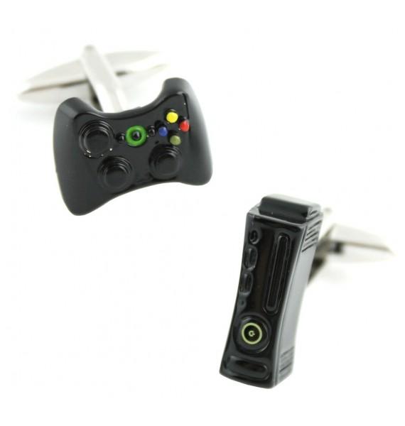 Black Xbox 360 Cufflinks