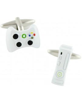White Xbox 360 Cufflinks