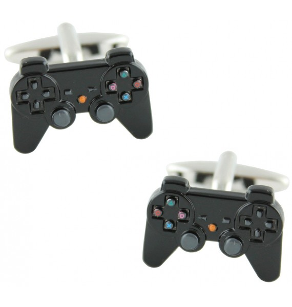Gemelos PlayStation Negro