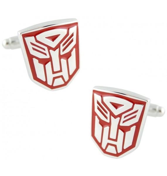 Red Autobots Logo Cufflinks