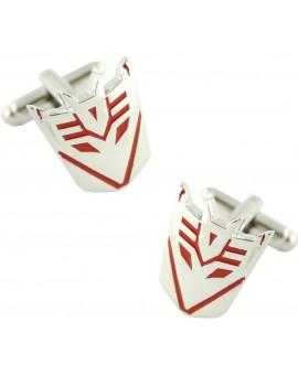Gemelos Transformers Decepticons Rojo