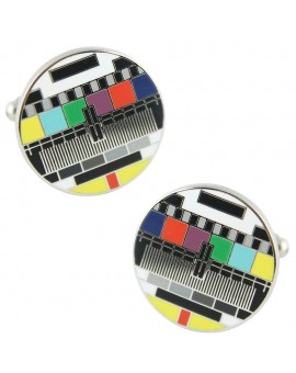 Test Card Cufflinks
