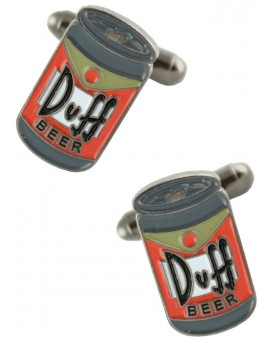 Duff Beer Cufflinks