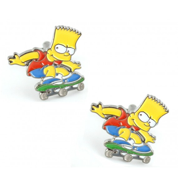 Bart Simpson Cufflinks