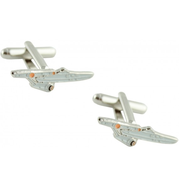Star Trek Starship Enterprise Cufflinks