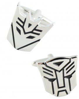 Transformers Autobot and Decepticon Cufflinks