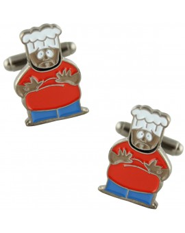 South Park Chef Cufflinks