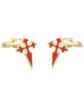 Cross of Saint James Cufflinks
