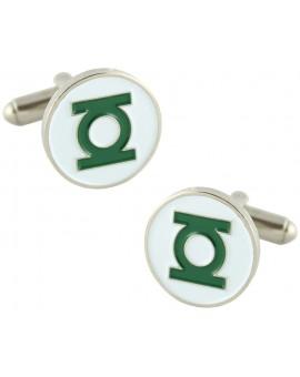 Green Lantern Logo Cufflinks