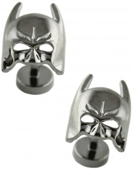 Black Batman Mask Cufflinks