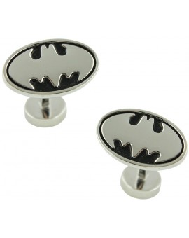 Gemelos Batman 3D Plateado
