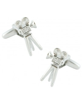 Cinema Camera Cufflinks