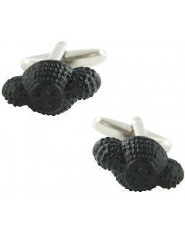Black Bullfighter Hat Cufflinks