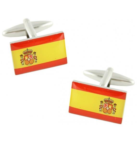 Spain Flag Cufflinks