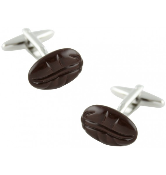 Coffee Bean Cufflinks