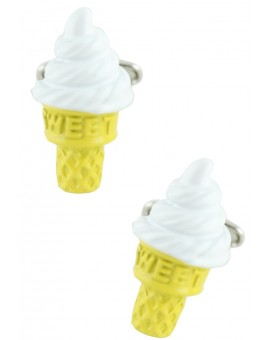 Ice Cream Cufflinks