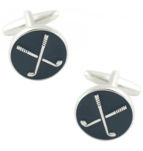 Navy Golf Cufflinks