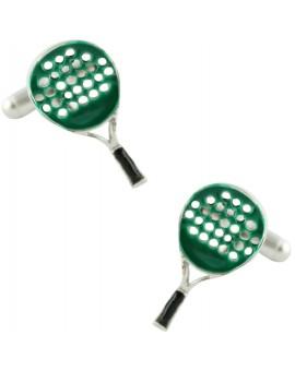 Gemelos Raqueta de Pádel Verde