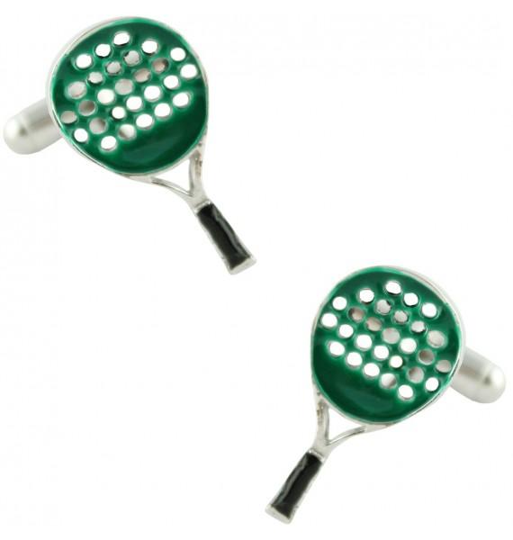 Gemelos Raqueta de Padel Verde