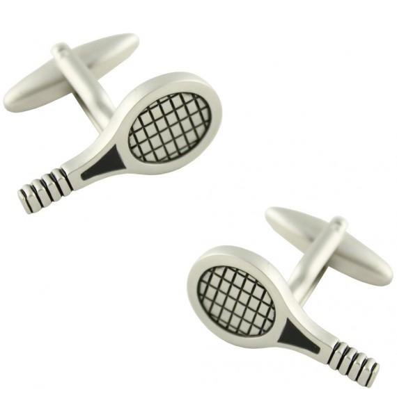Gemelos Raqueta de Tenis